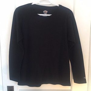Duofold by Champion Black Thermal Long Sleeve Top